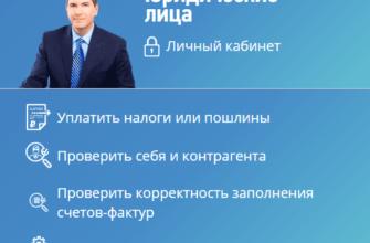 Вход в личный кабинет юридического лица на сайте ФНС