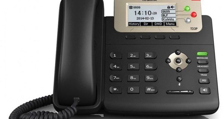 Настольный телефон Yealink SIP-T21P E2, 2 аккаунта, PoE по цене 5 328 руб. в фирменном магазине YEALINK в России