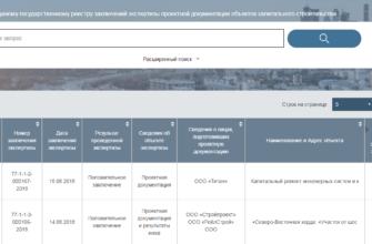 Единый Государственный Реестр Заключений (ЕГРЗ)