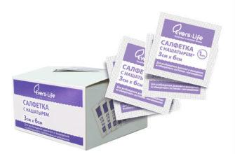 Салфетка для стимуляции дыхания Эвтекс 3x6см №1 купить в Москве по цене от 5.5 рублей