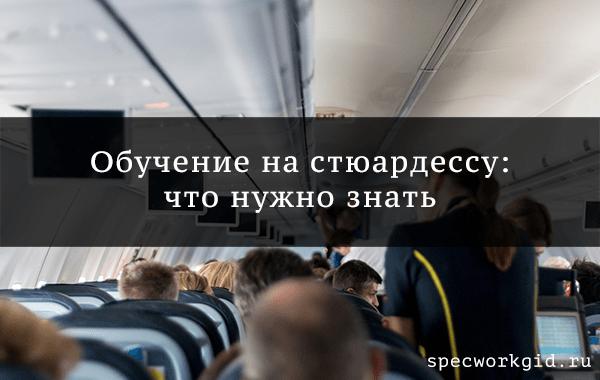✈ Как отучиться на стюардессу и можно ли сделать это бесплатно