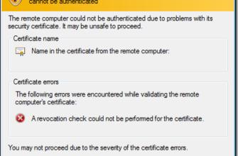 Ошибка сертификата при подключении по RDP: а как его обновить/заменить? — Хабр Q&A