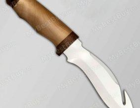 Нож Акула. Рукоять березовый кап - Златоустовские ножи и украшенные изделия