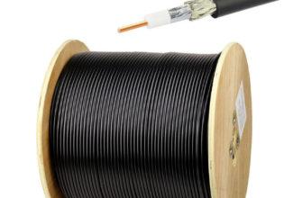Коаксиальный кабель 8D-FB PVC, CCA, PE купить в Москве недорого