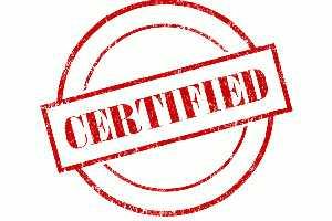 certificate - Русский перевод – Словарь Linguee