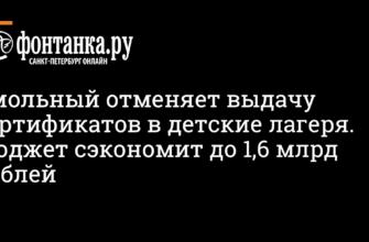 Смольный отменяет выдачу сертификатов в детские лагеря. Бюджет сэкономит до 1,6 млрд рублей - Власть - Новости Санкт-Петербурга - Фонтанка.Ру