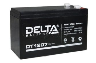 Delta DTM 12120 L – аккумулятор 12В, 120Ач. Купить по выгодной цене!