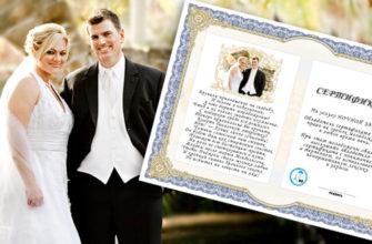 Подарки на свадьбу гостям за конкурсы (Коллекция текстов для сертификатов)