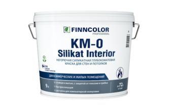 Краска для путей эвакуации КМ0 силикатная - 25 кг