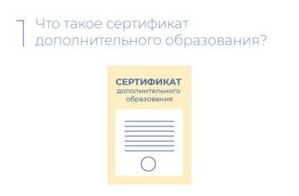 Портал системы образования города Нижневартовска - Сертификат дополнительного образования