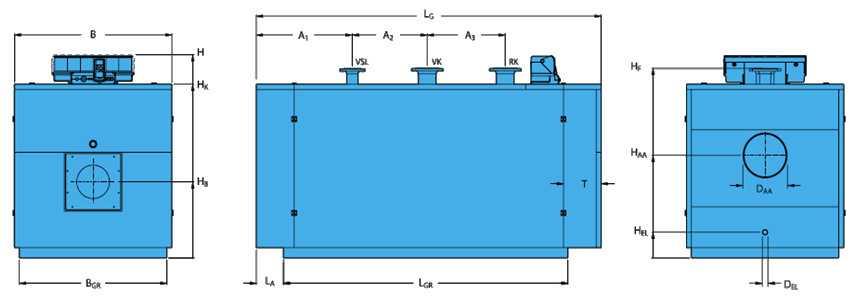 Комбинированный (универсальный) котел отопления Buderus Logano SK645 / SK745 190 кВт