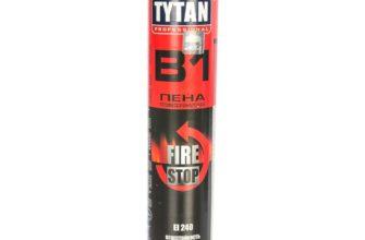 Профессиональная огнестойкая пена Tytan B1 Professional по низким ценам купить оптом