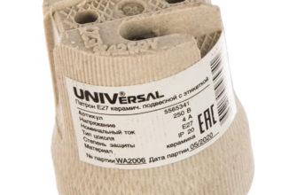 Купить Патрон керамический E27 EKF LHCe-E27 оптом, цена